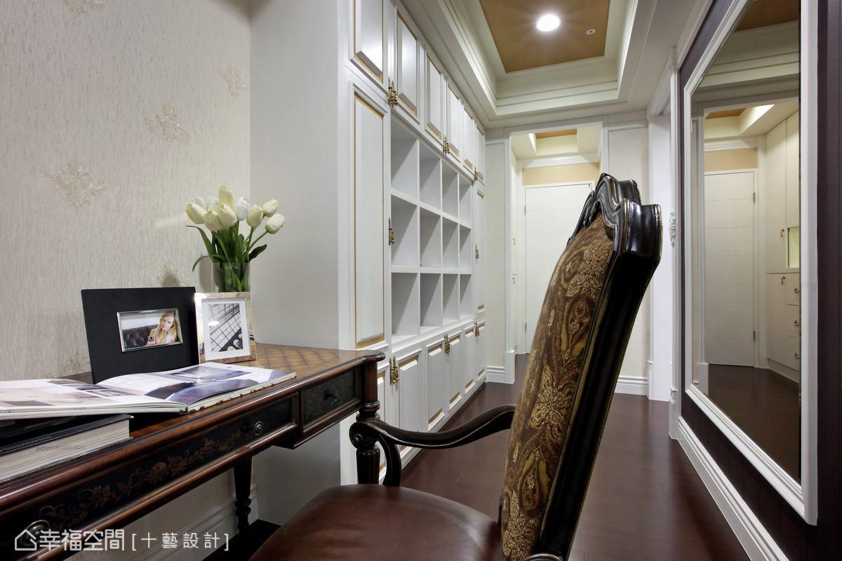 二進式的設計,進入主臥室前需先經過主臥書房。