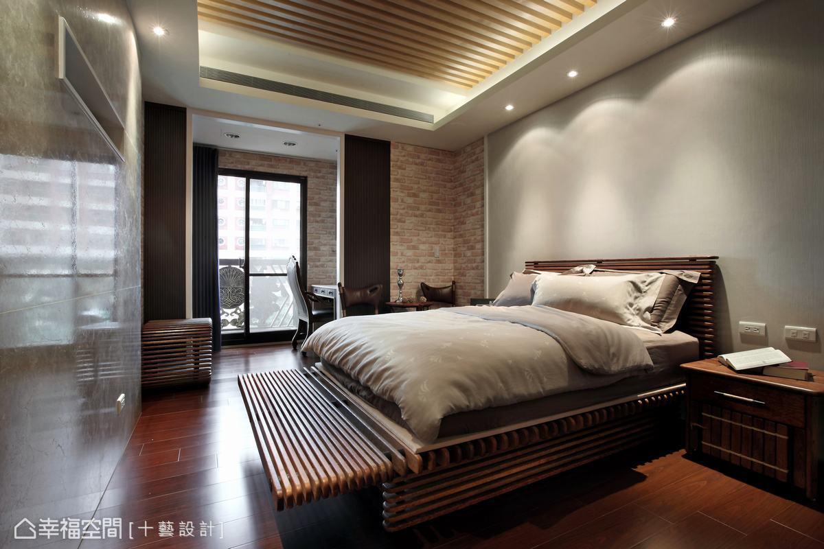 設計師在每個專屬的私人休憩領域中,賦予完全不同的空間表情。