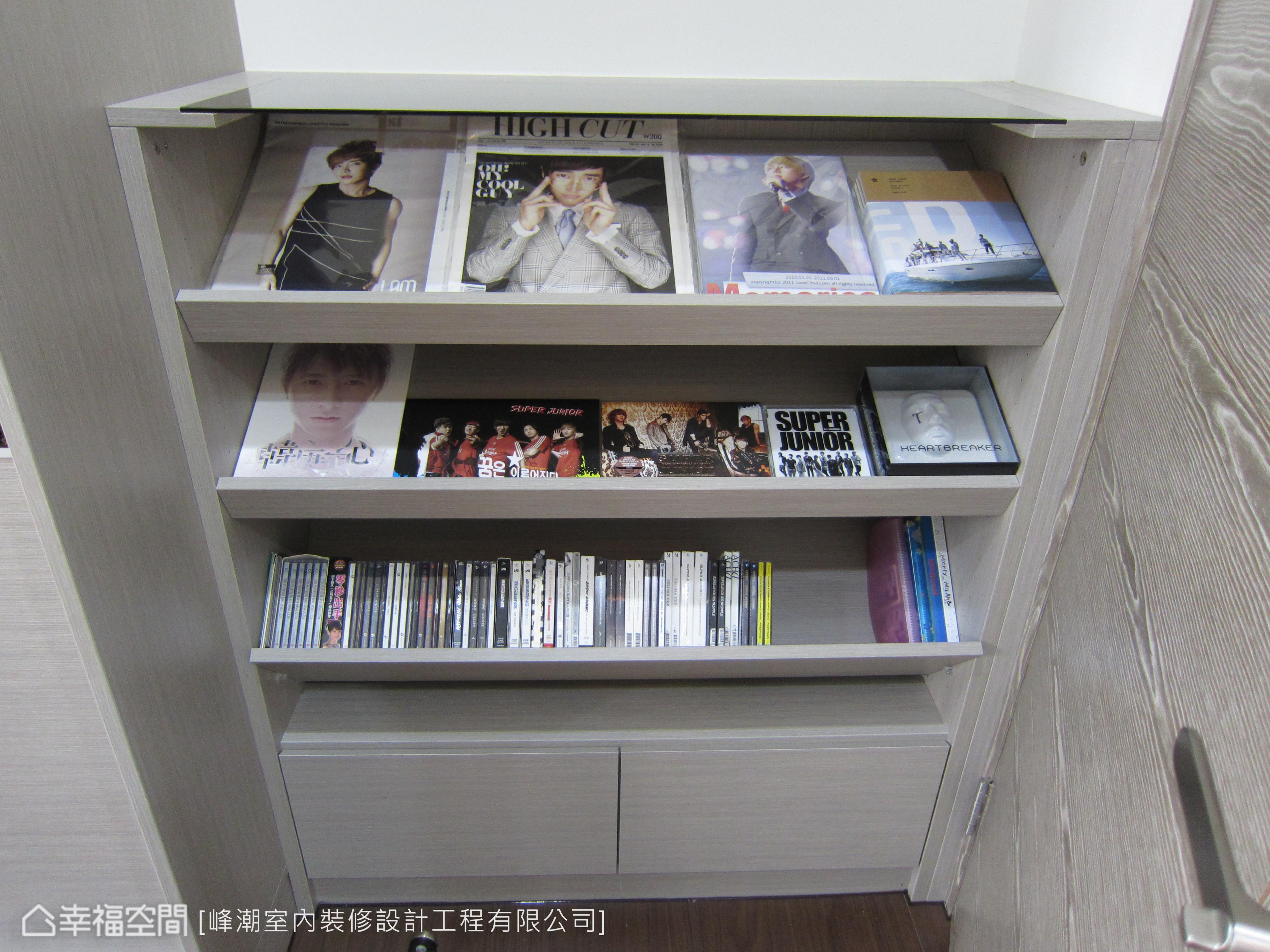CD展示架