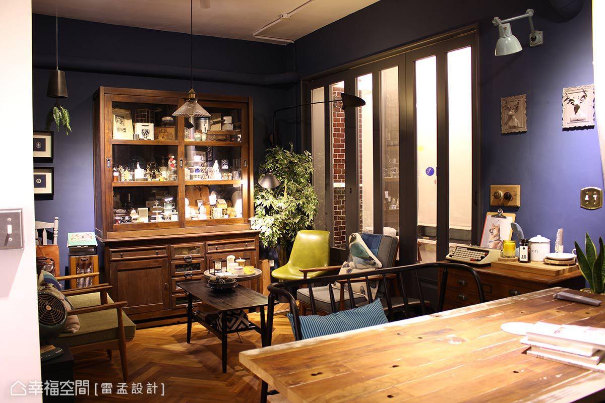 可自由搬移的活動式家具能依照生活型態的調整彈性移動,創造截然不同的生活感。