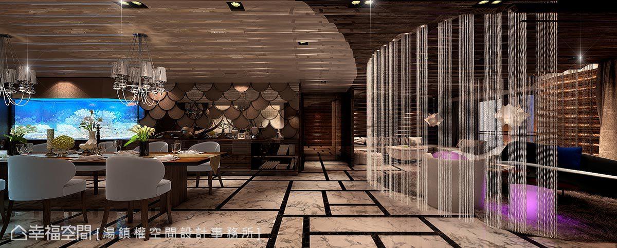 五光十色流光溢彩 極致時尚奢華風格宅