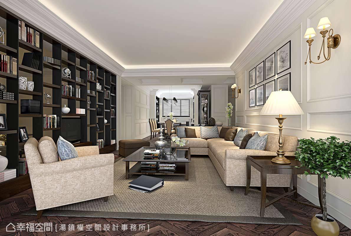 感受美式薰陶 與優雅相遇的美式古典宅