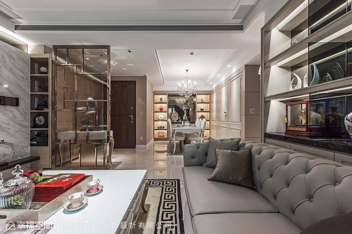 乾淨的白色基底,融入柔和的暖色調,調和出宜人的居家氛圍。