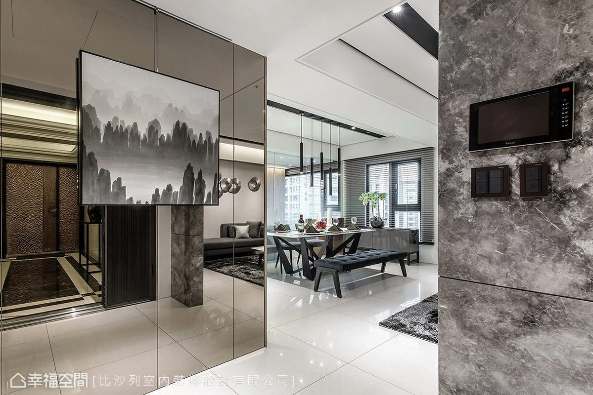 現代風格 大坪數 新成屋 比沙列室內裝修設計有限公司