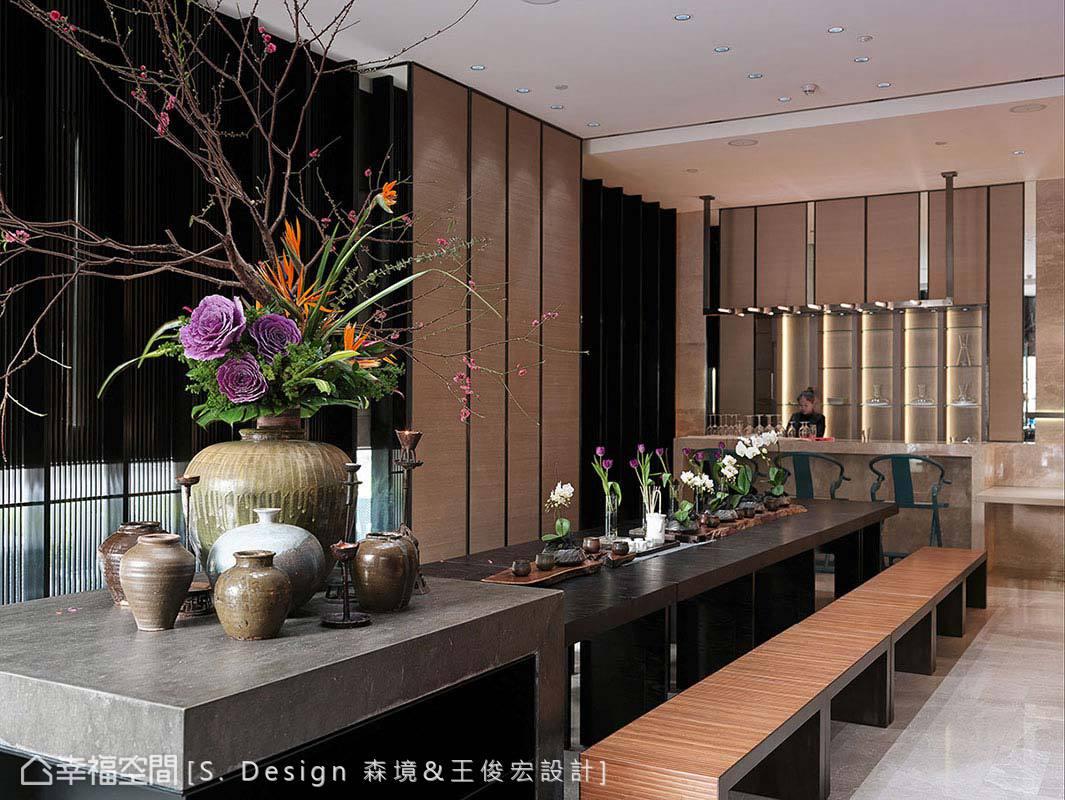 具備輕食機能的多功能會議室,也能成為辦講座的講堂空間。