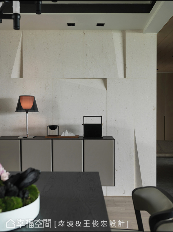現代風格 標準格局 新成屋 S. Design 森境&王俊宏室內裝修設計