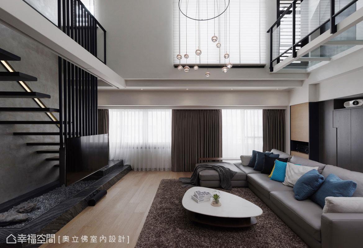 休閒多元 樓中樓 老屋翻新 奧立佛室內設計