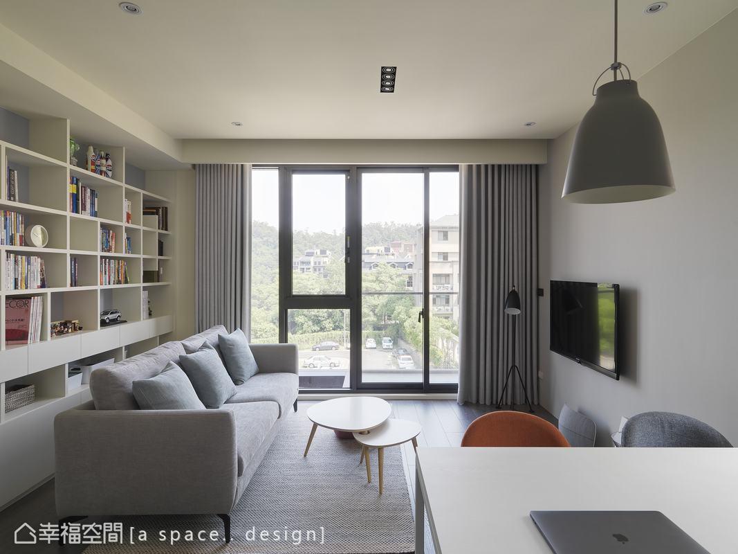 北歐風格 標準格局 新成屋 a space.. design