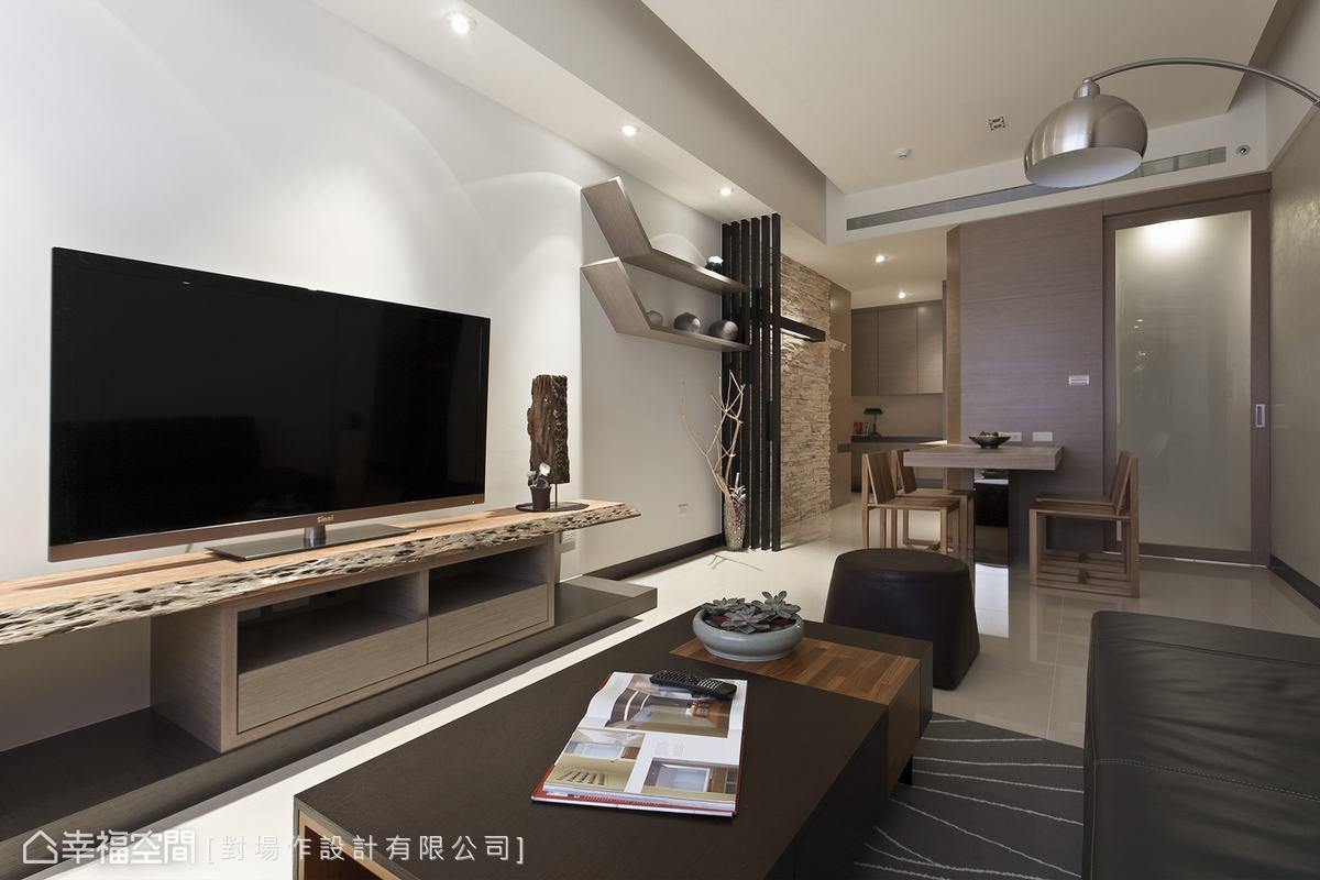 使用坪數22坪三房兩廳 小空間大挑戰