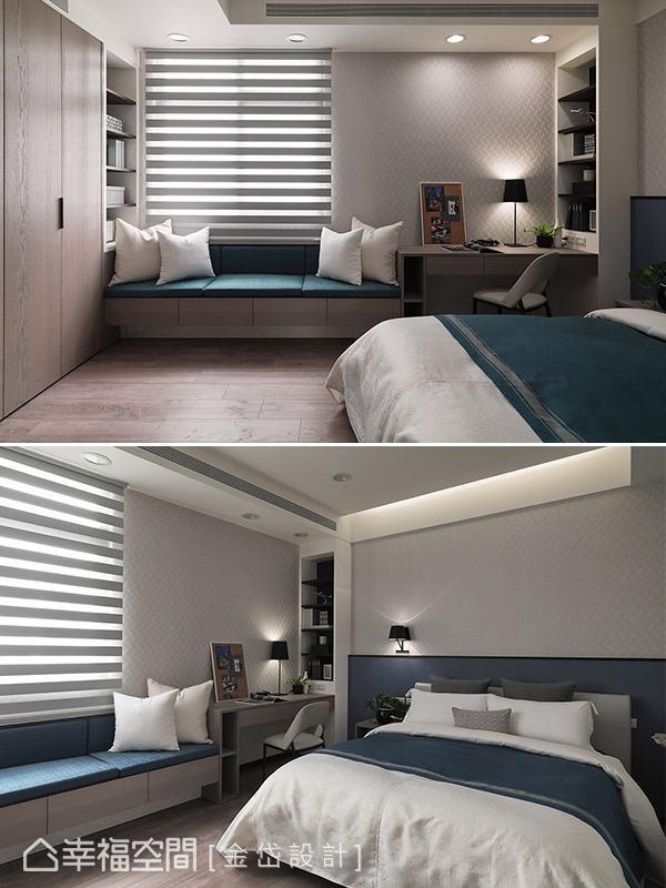 在不動格局前提之下,針對空間既有條件與居住者實際需求,規劃合宜的起居機能,創造輕鬆便利的休憩環境。