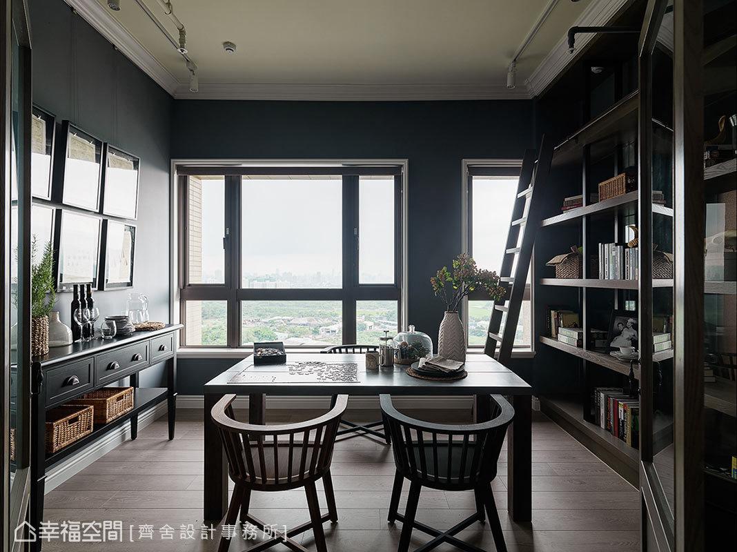 景框遠方詩意 灰藍色瑞典感工業風