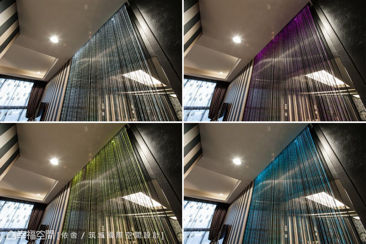 透過光影變化,為空間增添情調與氛圍。