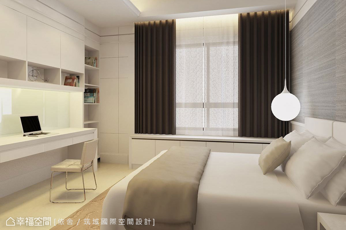 新古典 大坪數 新成屋 依舍/筑域國際空間設計