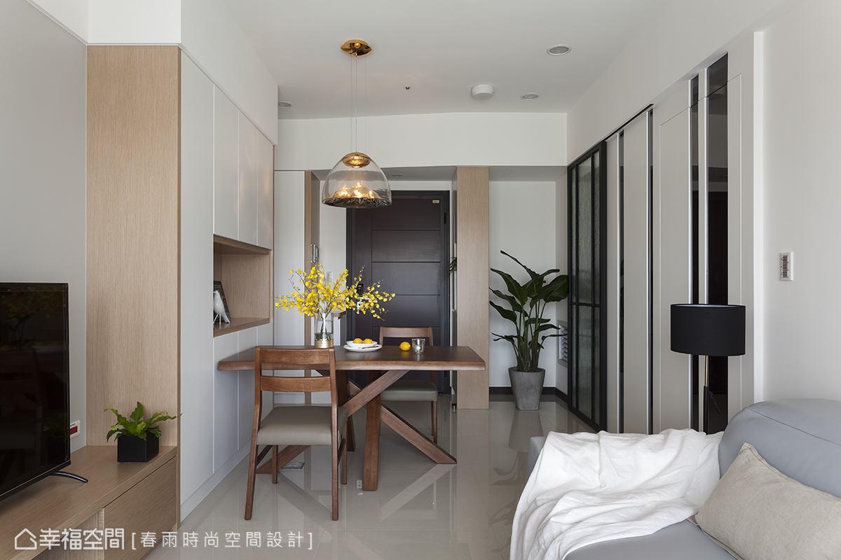 休閒多元 小坪數 新成屋 春雨時尚空間設計