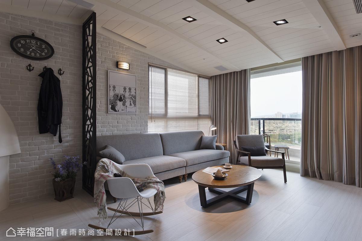 從傢俱挑選、窗簾配色到掛勾線條,進而決定居家風格定位。