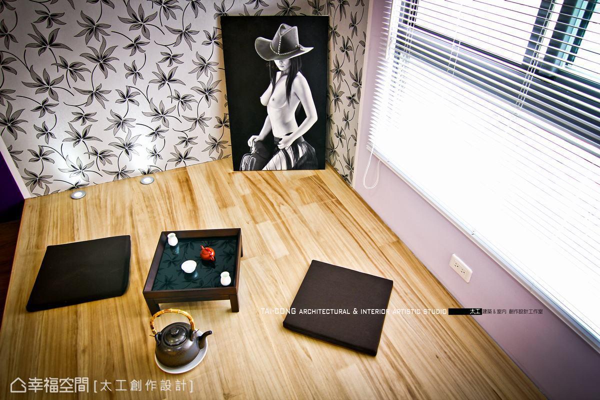 窩在角落的喫茶熱煙,可以獨享的下午時光。