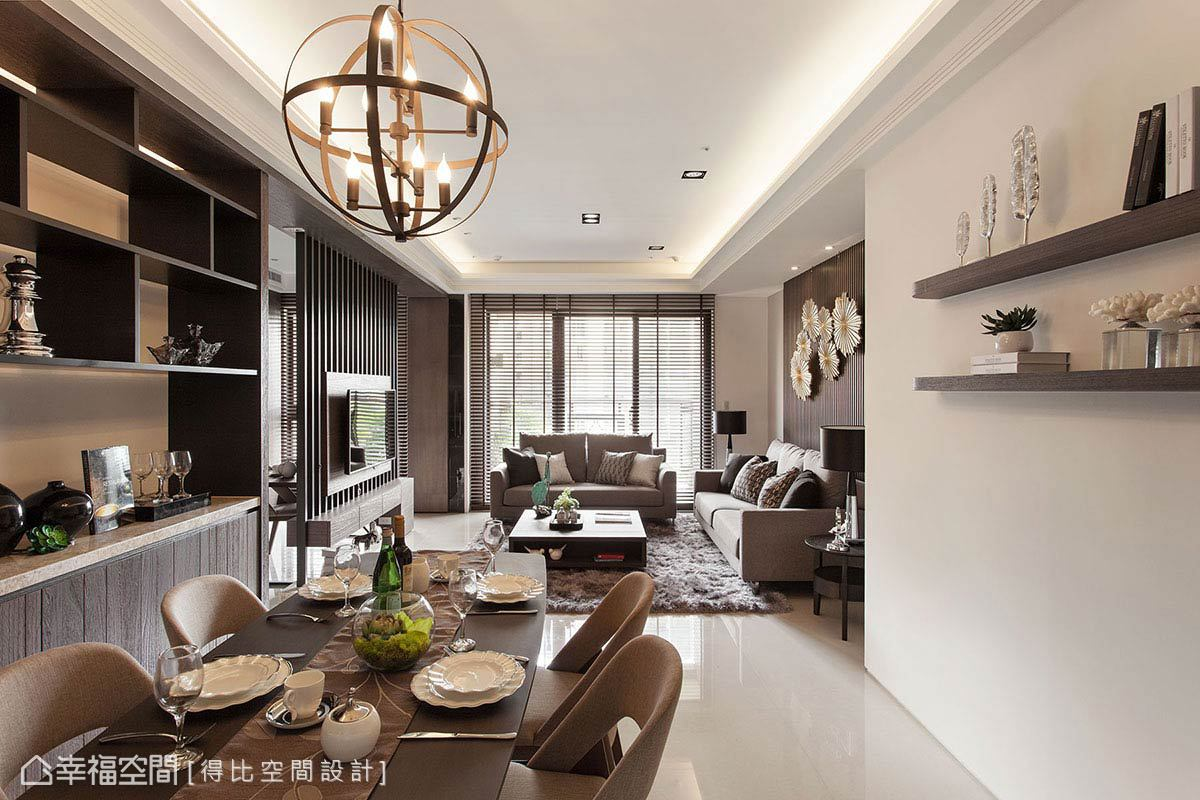 現代風格 標準格局 新成屋 得比空間設計