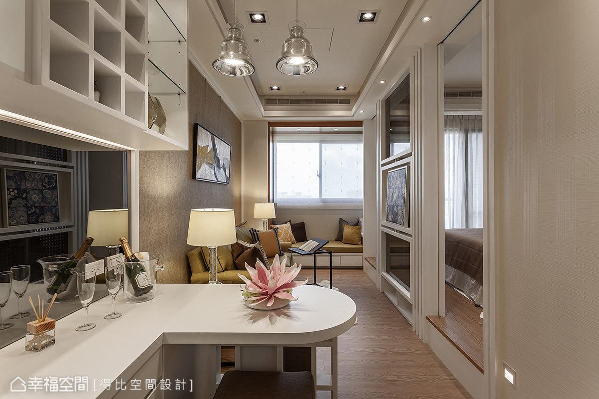 現代風格 實品/樣品屋 新成屋 得比空間設計
