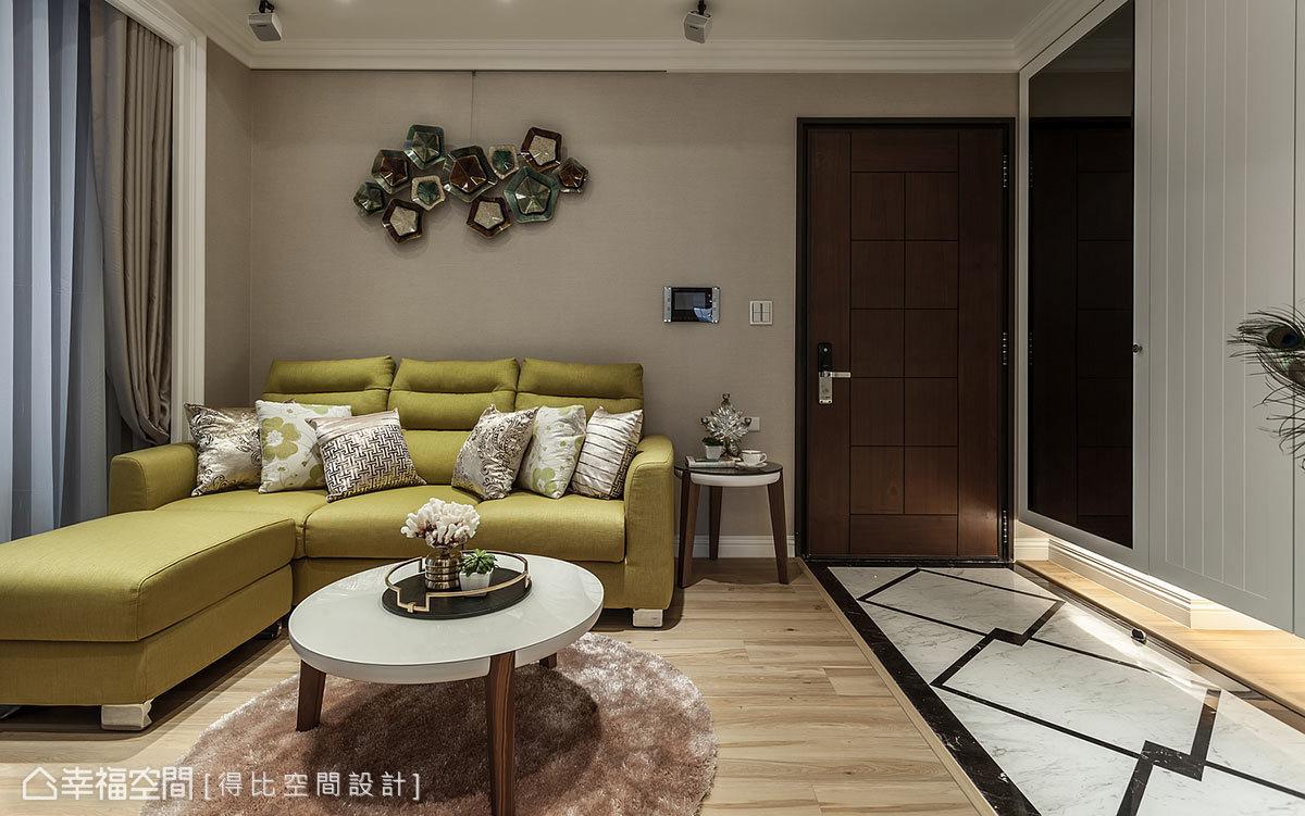 美式風格 標準格局 新成屋 得比空間設計