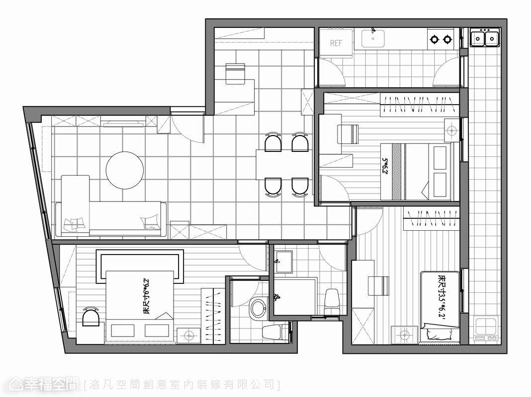 舊公寓改造休閒舒適家