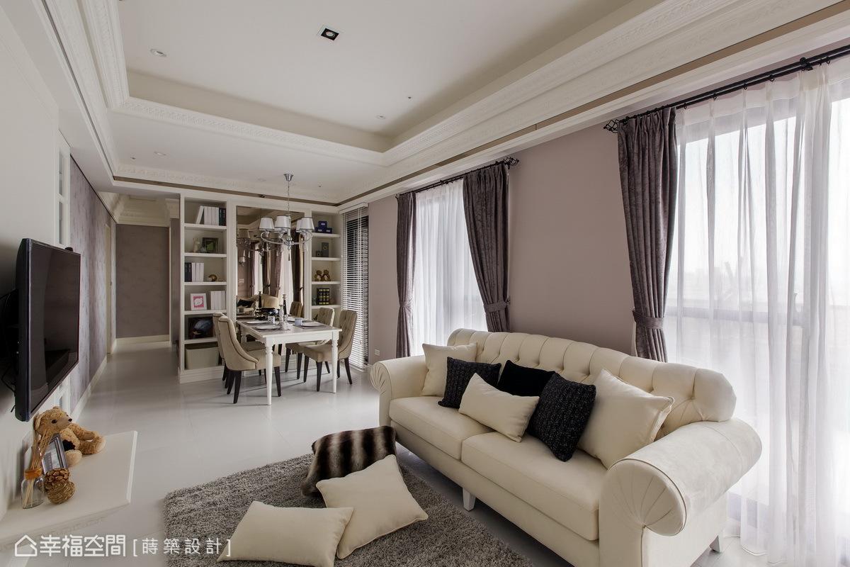 朱皇蒔-室內設計 : 珠寶盒般的女子浪漫窩