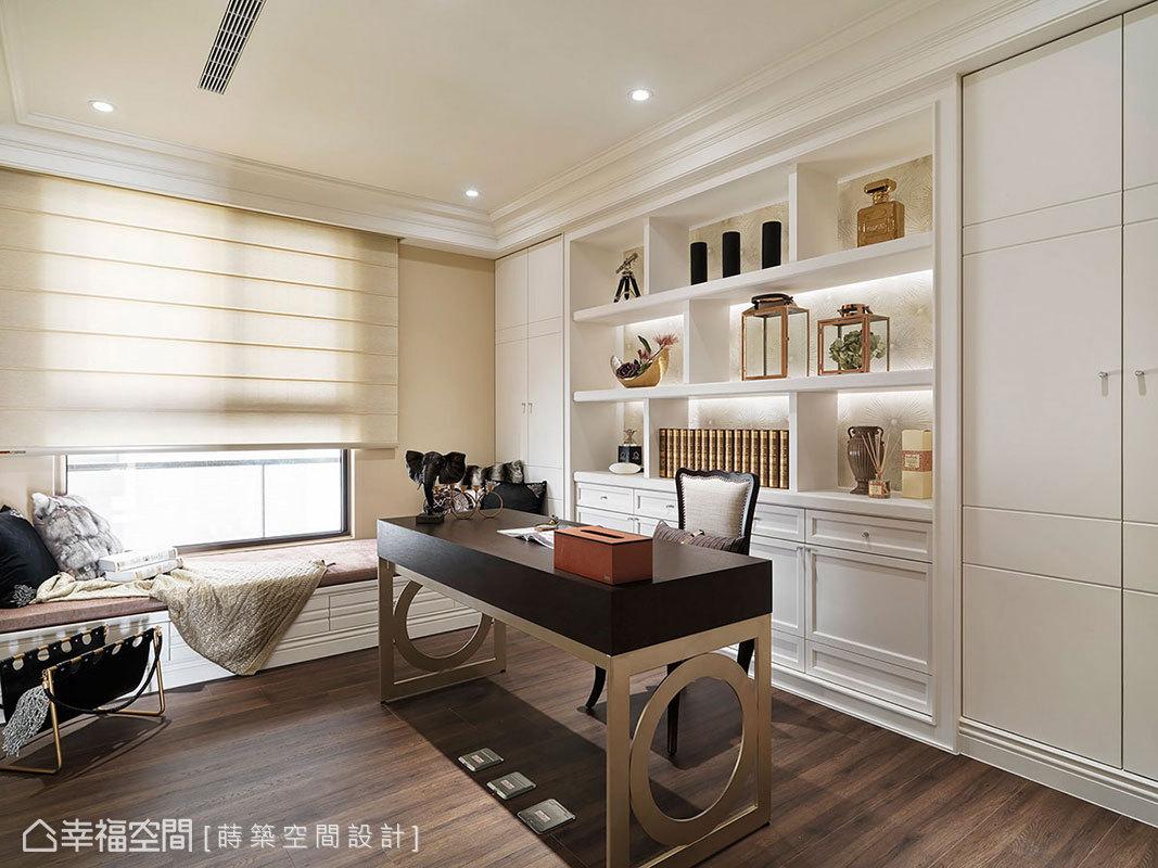 新古典 大坪數 新成屋 蒔築空間設計