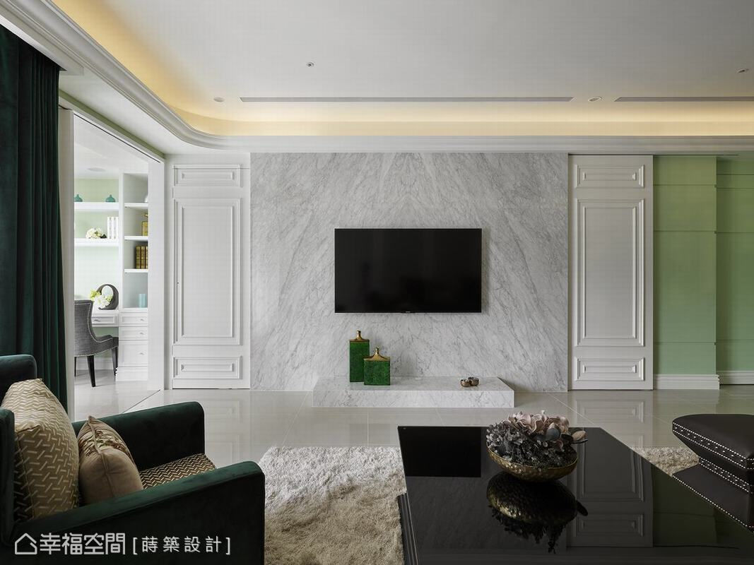 新古典 標準格局 新成屋 蒔築設計