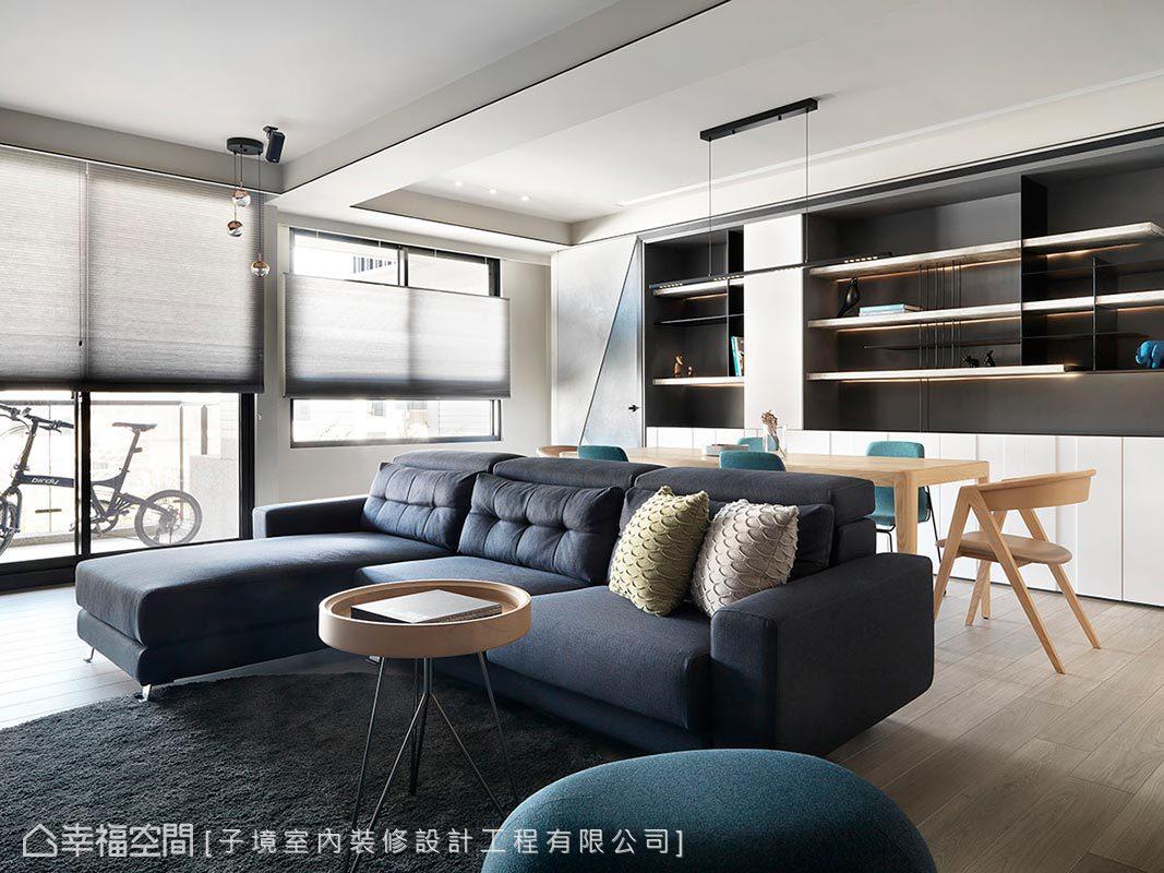 現代風格 小坪數 新成屋 子境室內裝修設計工程有限公司