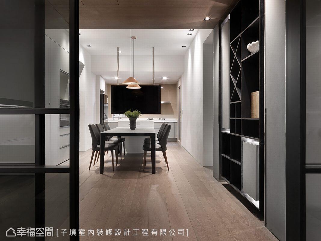 現代風格 大坪數 新成屋 子境室內裝修設計工程有限公司
