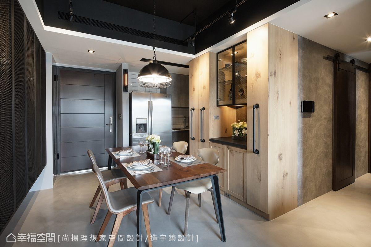 工業風格 標準格局 新成屋 尚揚理想家空間設計/造宇築設計
