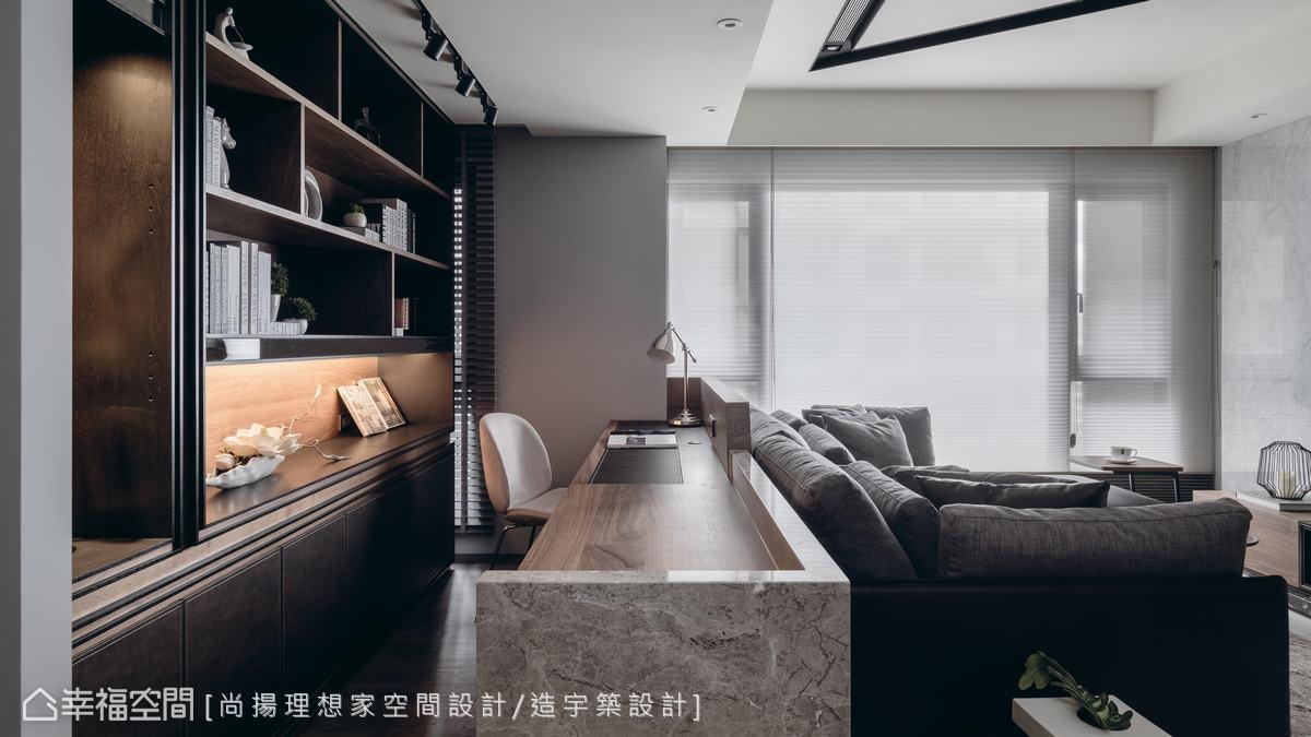現代風格 標準格局 新成屋 尚揚理想家空間設計/造宇築設計