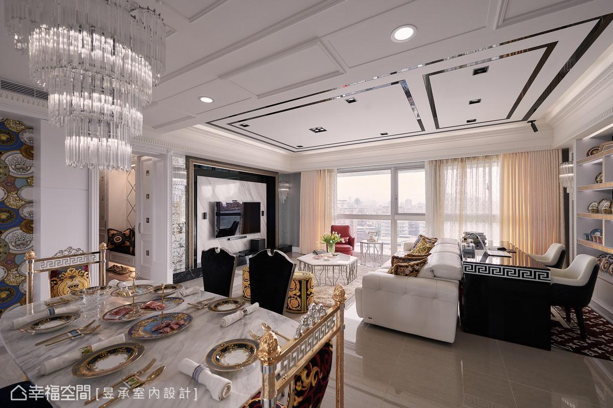 華麗的視覺饗宴!超高CP值美式新古典豪宅