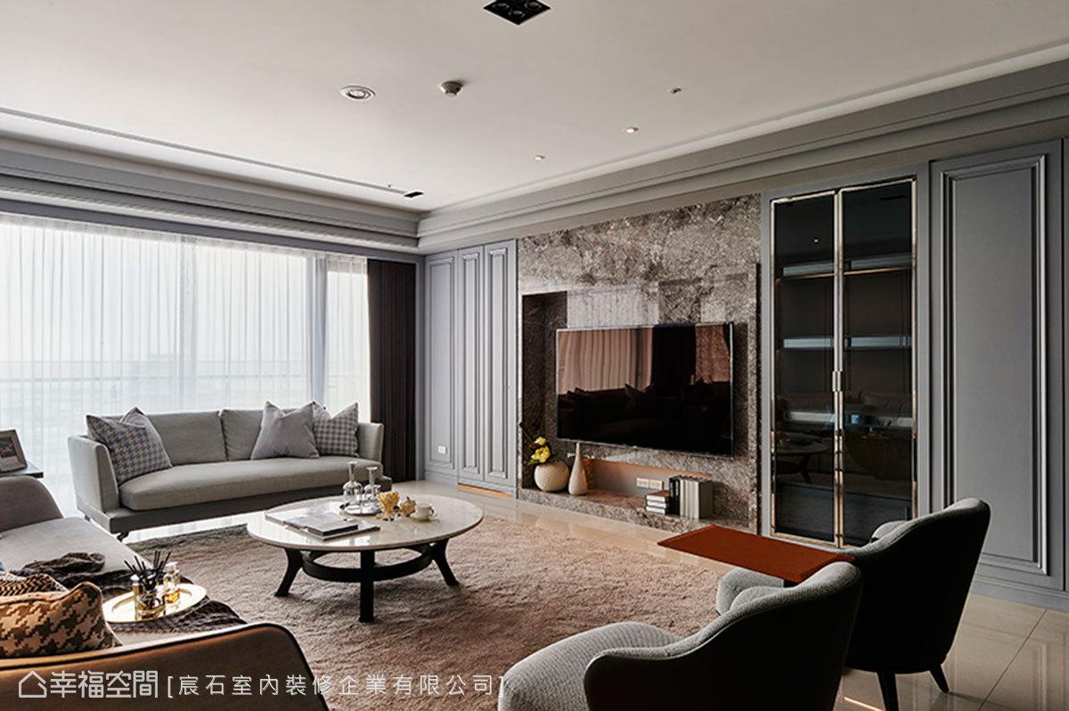 現代風格 大坪數 新成屋 宸石室內裝修企業有限公司