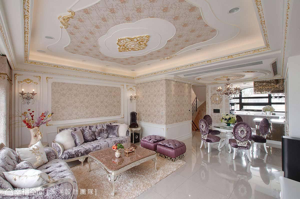 凡爾賽玫瑰 體驗歐式貴族生活新古典宅