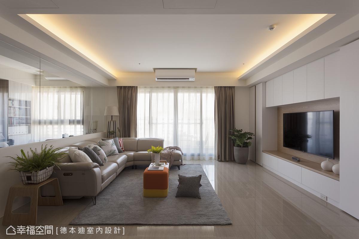 明亮寬敞的現代風格宅,親子互動零距離