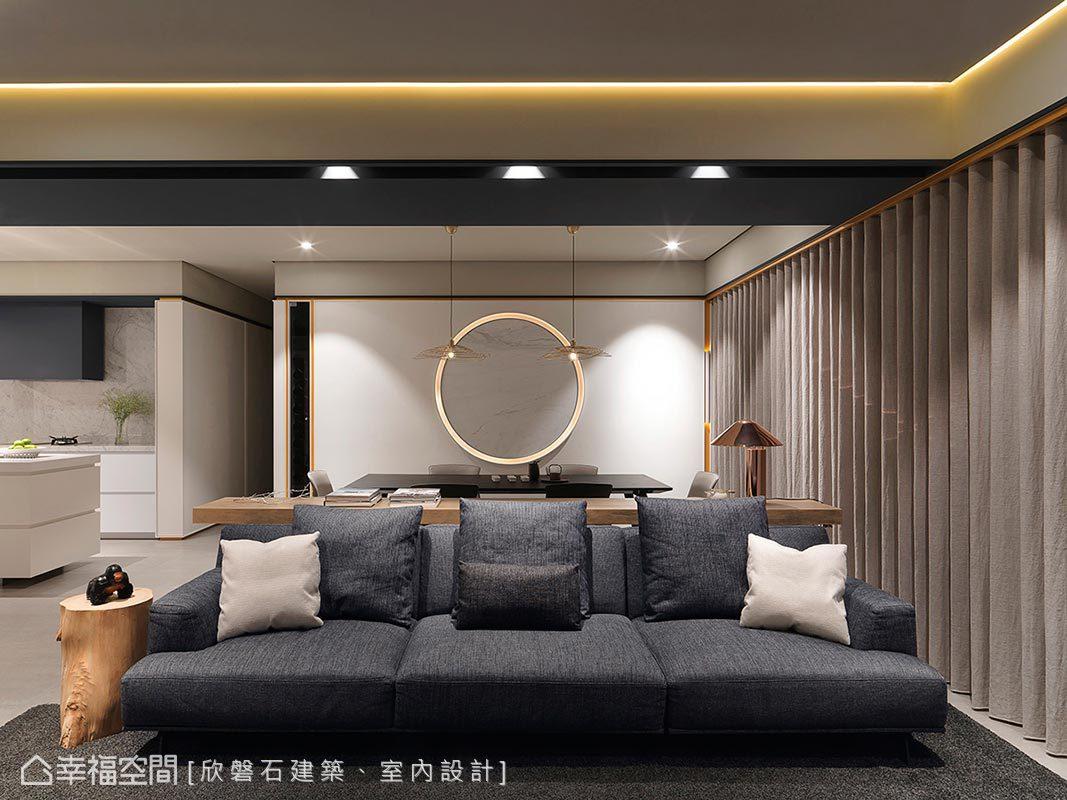 現代風格 標準格局 新成屋 欣磐石建築、室內設計