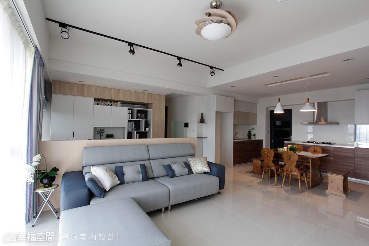 北歐風格 標準格局 新成屋 東風室內設計