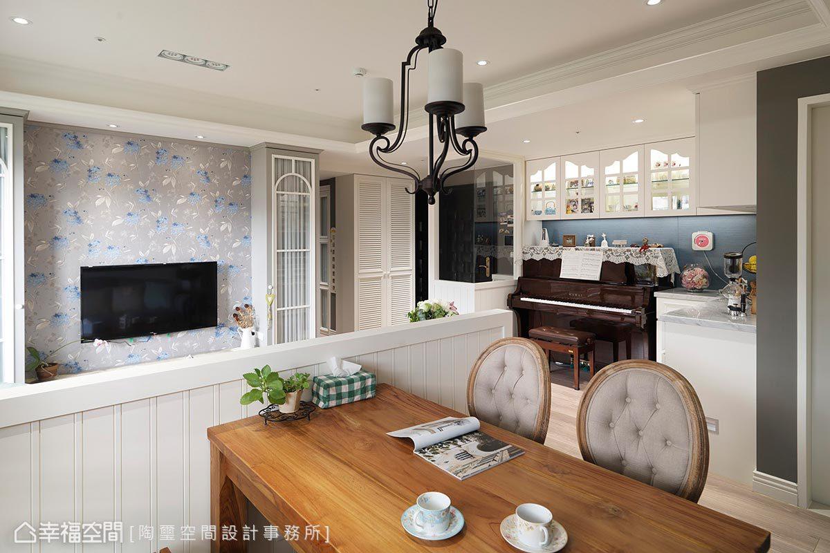 鄉村風格 標準格局 新成屋 陶璽空間設計事務所