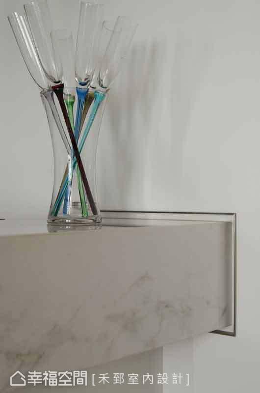 設計師陳弘芫透過帶有設計感的物件,渲染整體空間的品味質感。