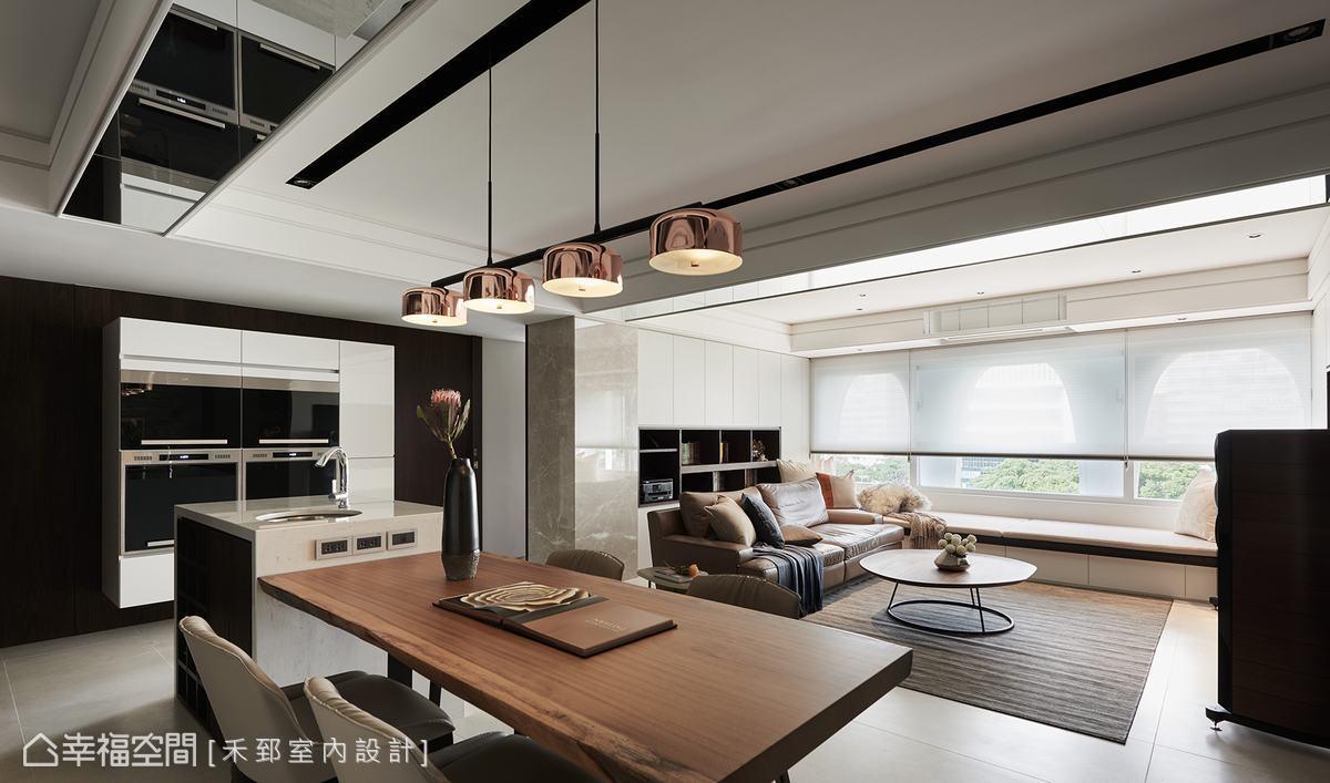 混搭風 標準格局 老屋翻新 禾郅室內設計