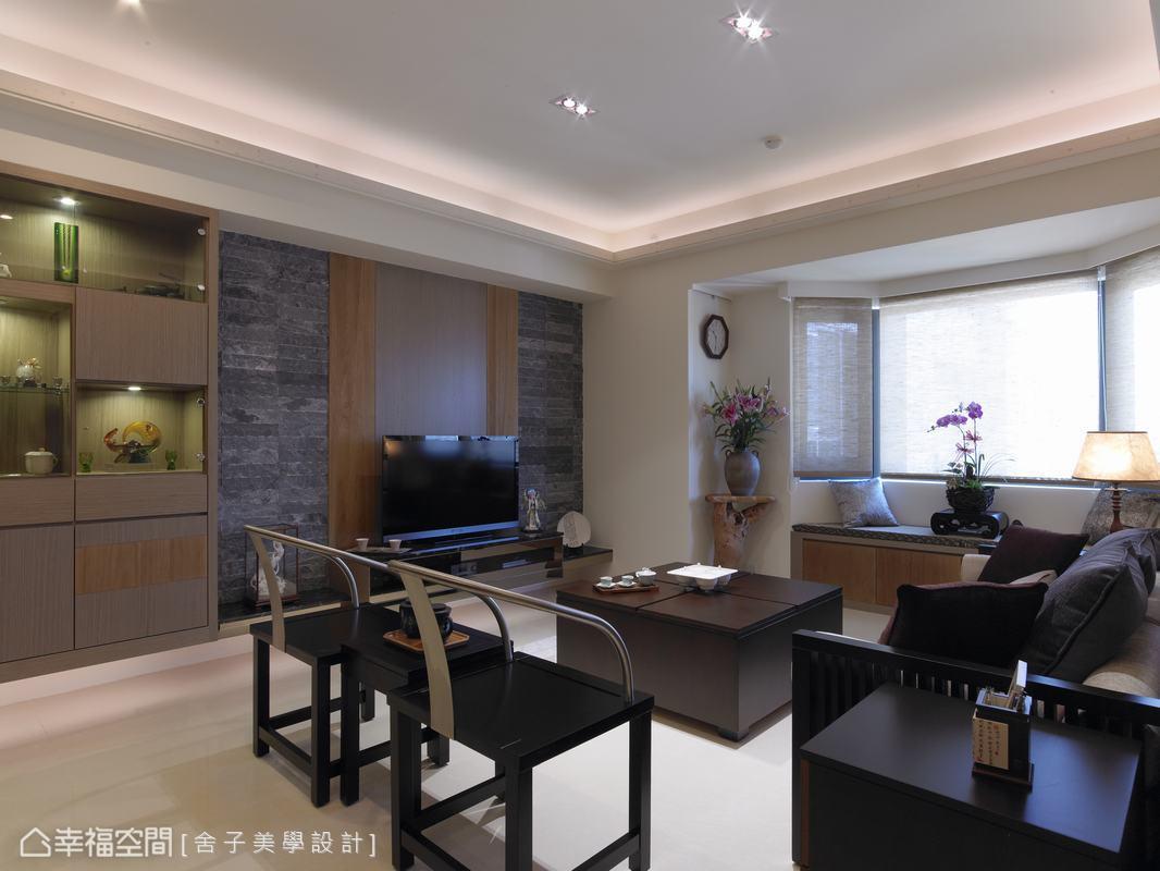 空間中挹注現代元素,呈現出的整體樣貌,是不易褪流行的經典中國風。