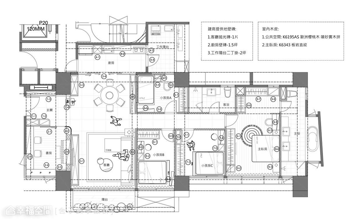 日光城堡 繪出6口之家的夢想藍圖