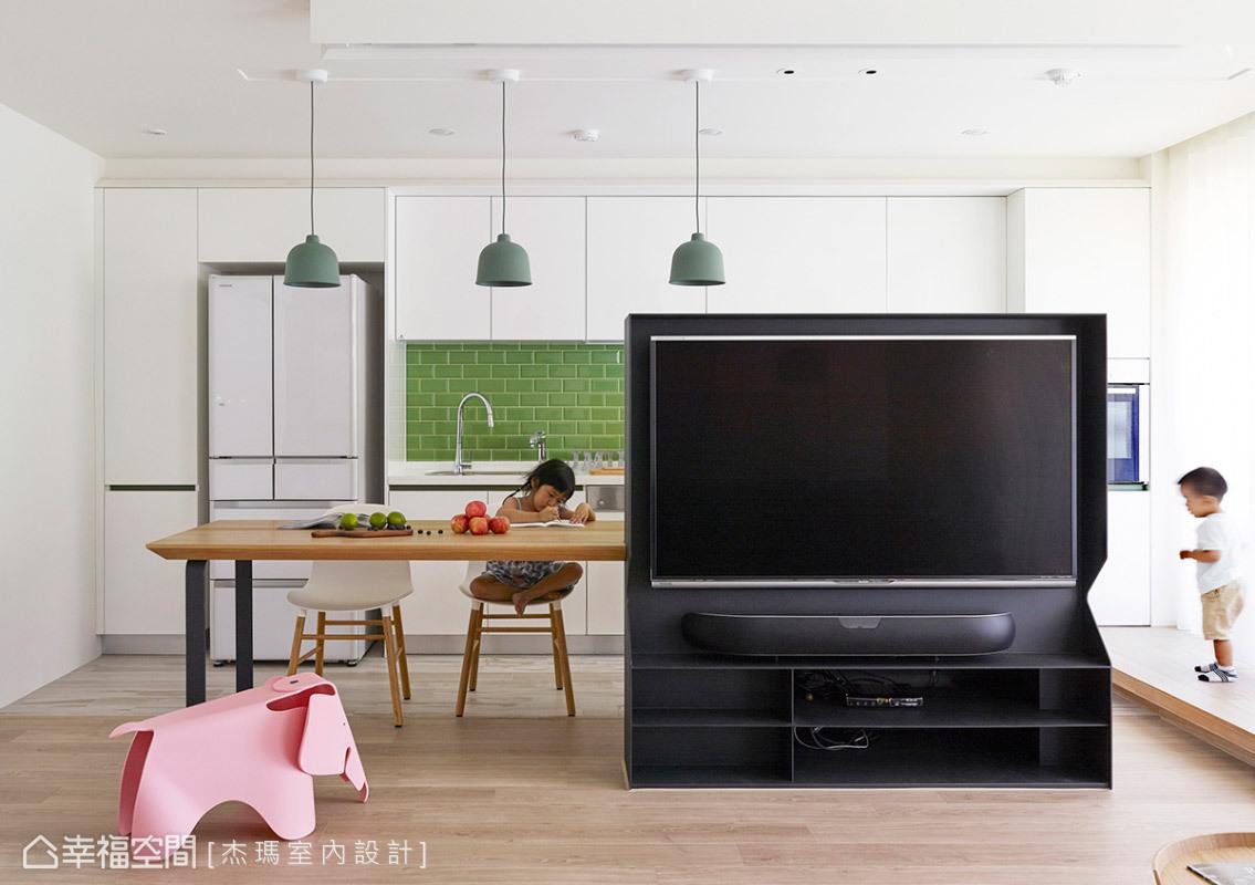 現代風格 標準格局 老屋翻新 杰瑪室內設計
