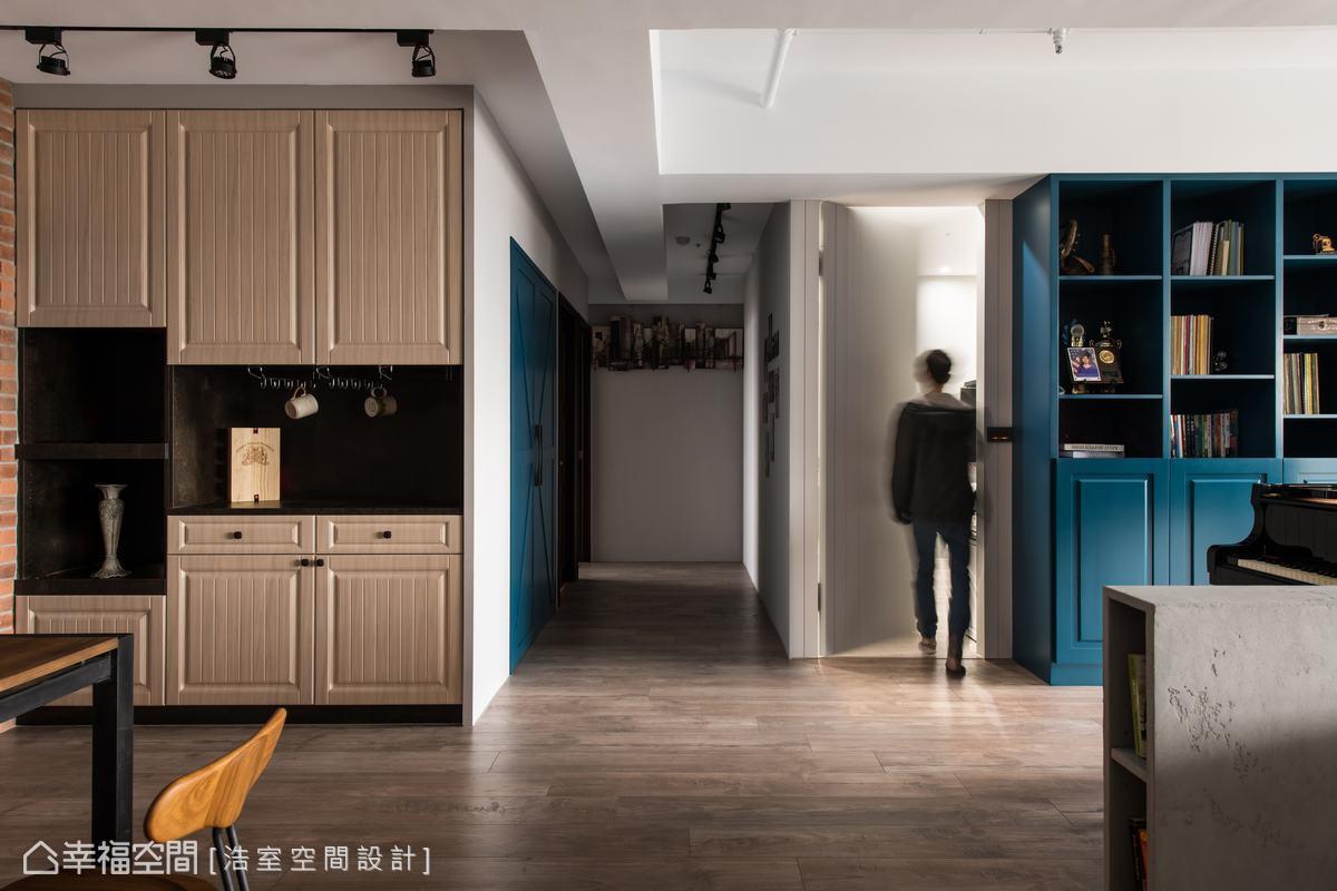 混搭風 標準格局 新成屋 浩室空間設計