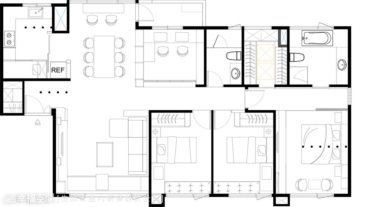 宋鸿庆&游政圻-室内设计:家的无限可-:幸星巴克人鱼系列设计图图片