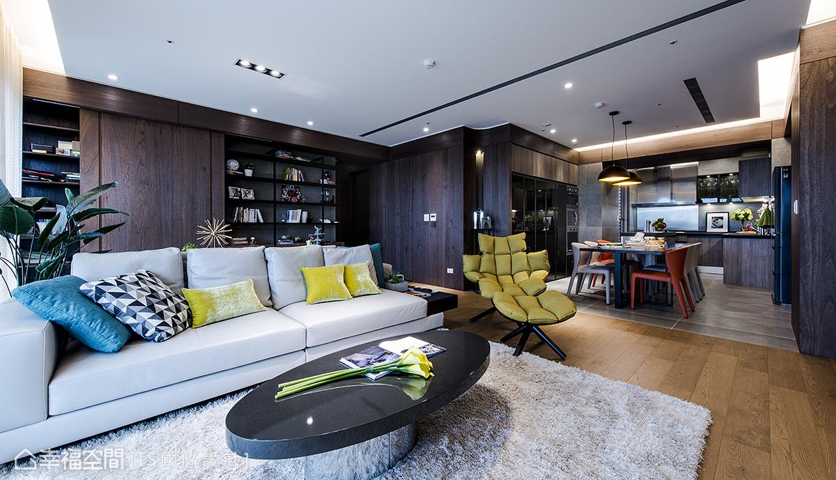 現代風格 標準格局 新成屋 IS國際設計