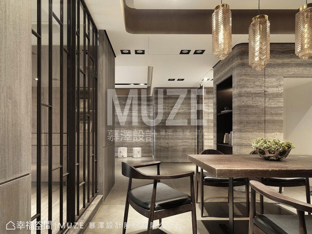 現代風格 標準格局 新成屋 MUZE 慕澤設計股份有限公司