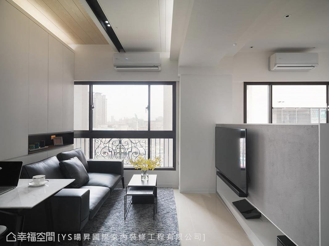 現代風格 小坪數 新成屋 YS暘昇國際室內裝修工程有限公司
