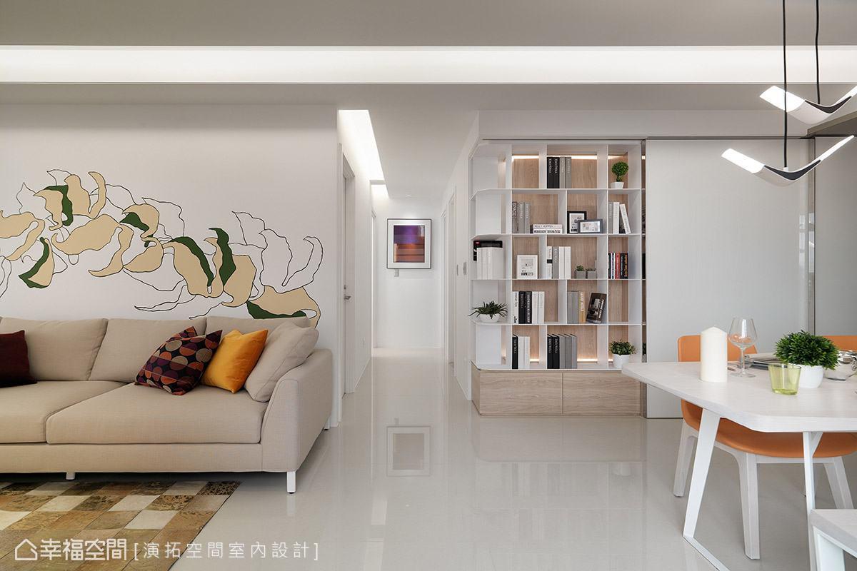 現代風格 標準格局 新成屋 演拓空間室內設計