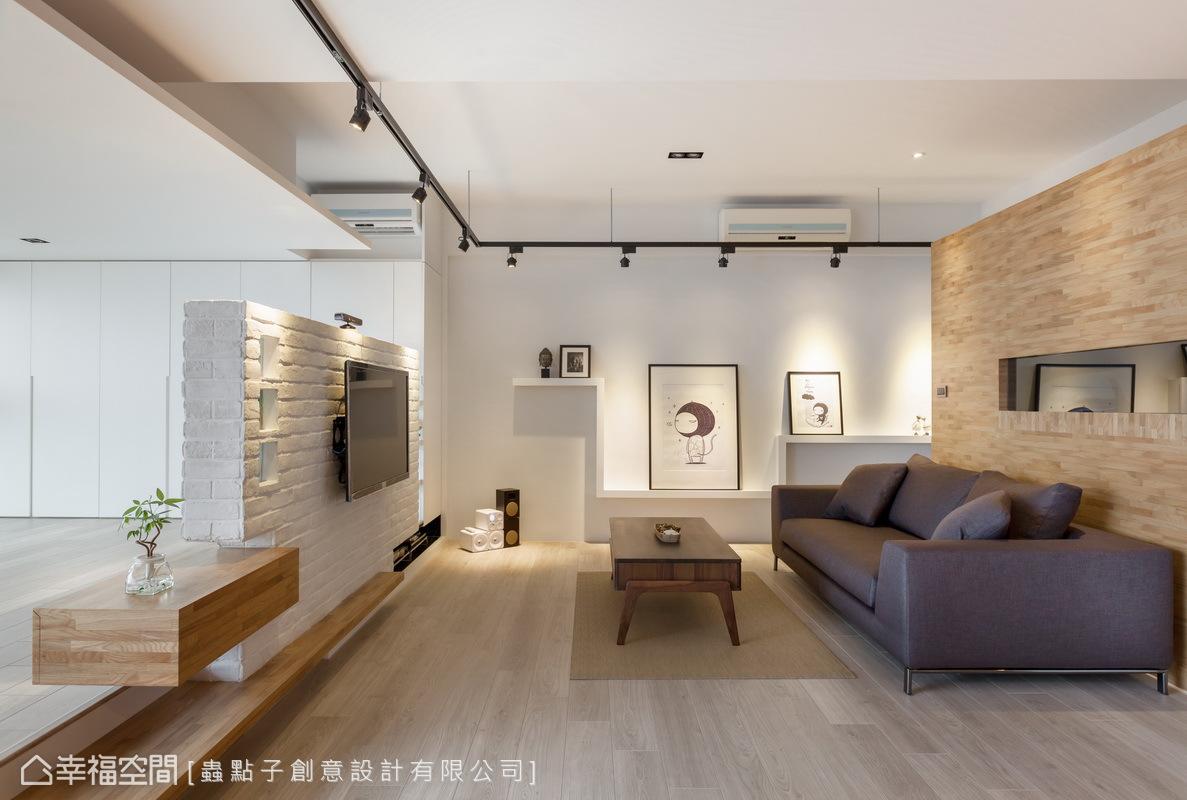公共開放區域的安排,線面的處理與材質特色的鋪陳運用,均表現出層次變化與細緻美感。
